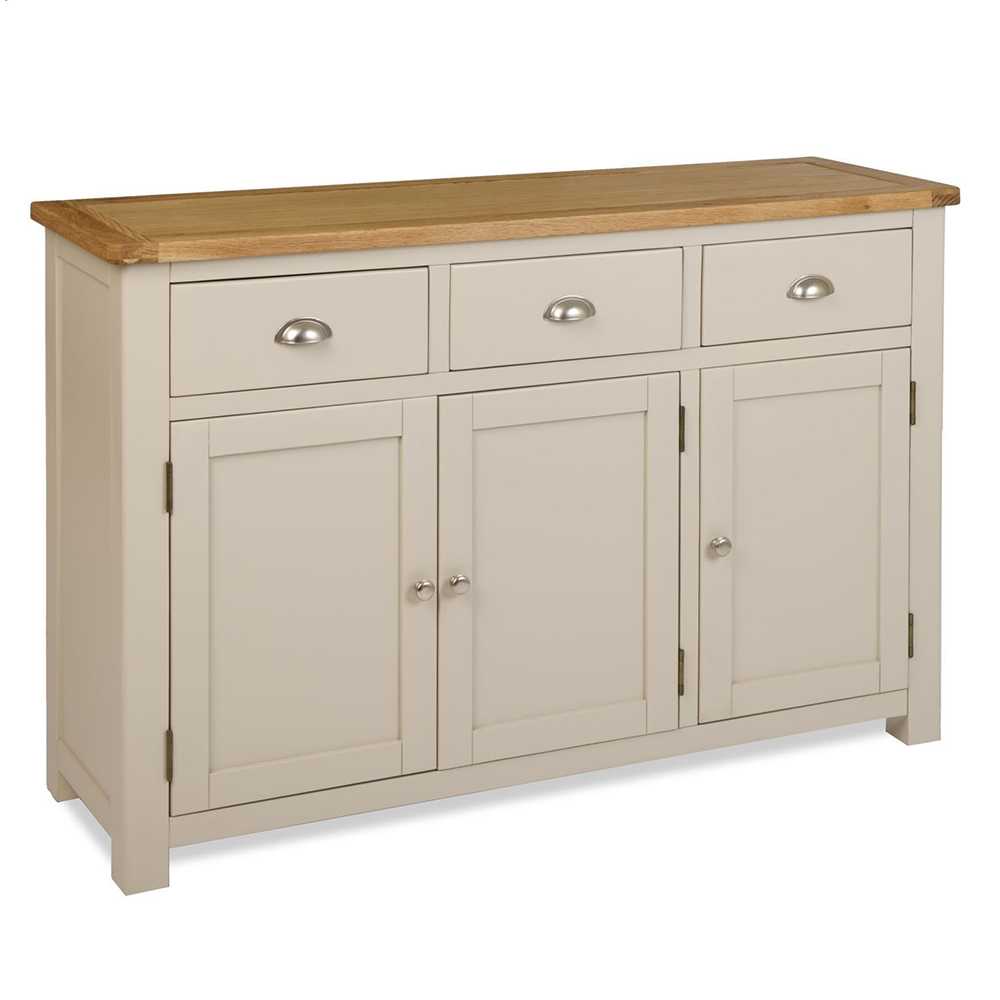 Orkney 3 door sideboard glenross furniture for Sideboard lindholm iii