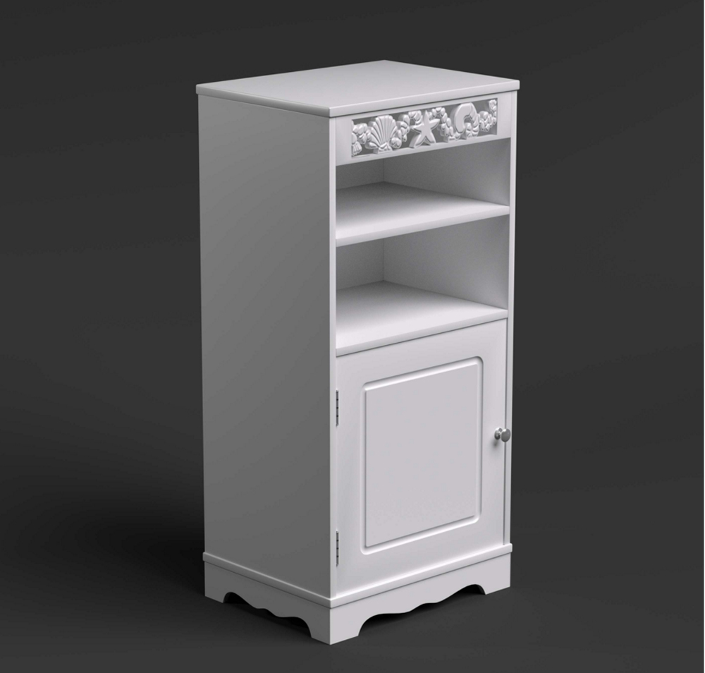 St Tropez Utility Bathroom Cabinet Glenross Furniture