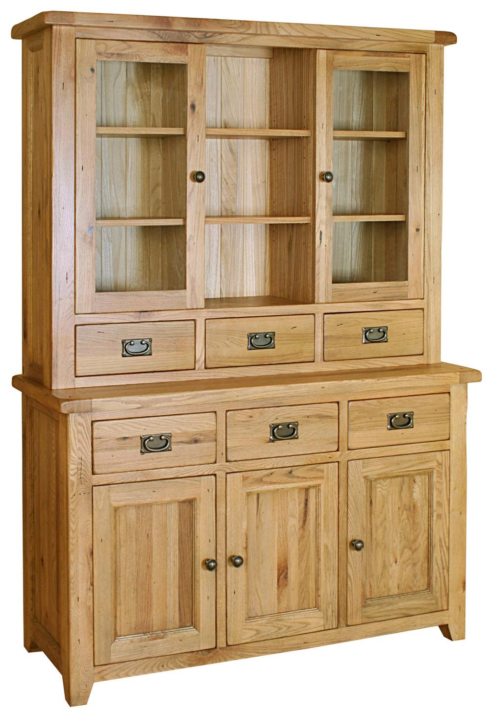 Stirling Oak Welsh Dresser Glenross Furniture